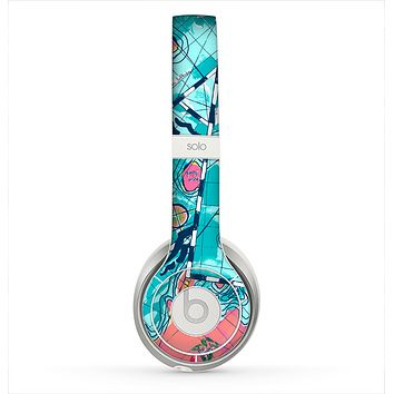 The Neon Navigation Skin for the Beats by Dre Solo 2 Headphones