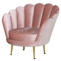 Luscious Pink Petal Chair