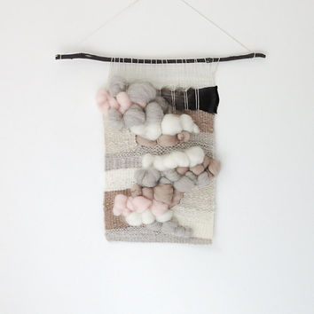 handwoven wallhanging no. 062614 / tapestry weaving