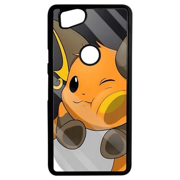 Pokemon Pikachu Evolution Google Pixel 2 Case