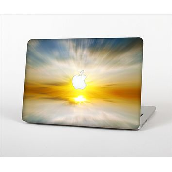 The Bright Blurred Sunset Skin Set for the Apple MacBook Pro 13""
