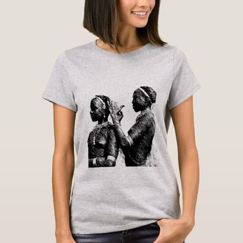 Tribal Wedding Preparations T-Shirt