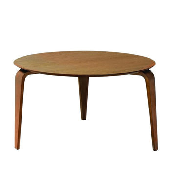 6 Seater Wood Round Dining Table - Neo | Modern, Mid-Century & Scandinavian | GFURN