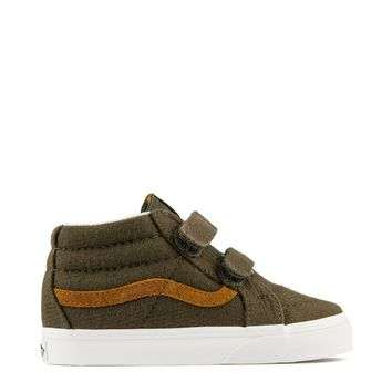 Vans Sk8-Mid Reissue V Kids Sneaker in Dusty Olive