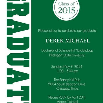 Graduate Graduation Party Invitations