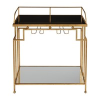 Burgess Gold Bar Cart