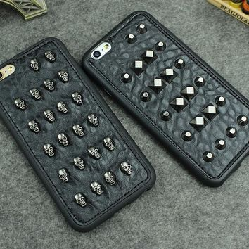 Studs, Stars or Skulls iPhone Case