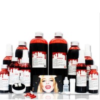 DIY Cos Halloween Terror Fake Joke Ultra-realistic Fake Blood Bottles Drips Simulation Props Festival Party Supplies 2018