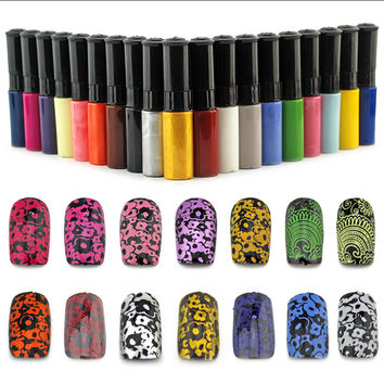 1 Bottle/LOT Nail Polish&stamp polish nail