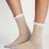 Free People Irreplaceable Speckled Highland Boot Sock