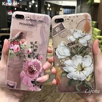 Different Flower Shape Phone Cases for iPhone
