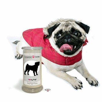 I Love My Pug! - Companion Candles
