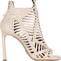 Daniele Michetti - Cutout leather sandals
