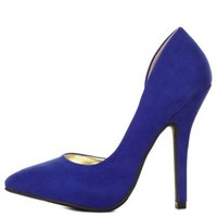 Pointed Toe D'Orsay Pumps by Charlotte Russe