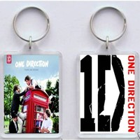 ** New One Direction 1D Keyring / Keychain - Take Me Home **