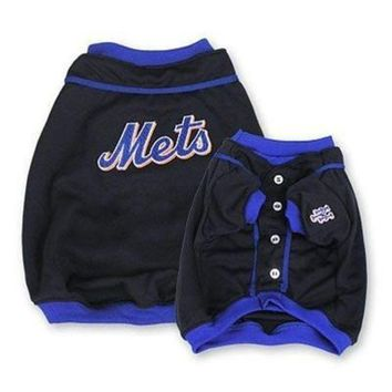 CUPUP9X New York Mets Alternate Style Dog Jersey