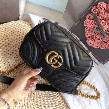 GUCCI Marmont Crossbody Shoulder Bag