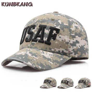 Trendy Winter Jacket New US Camouflage Army Baseball Cap Men POLICE OBAMA Snapback Hat Bone Casquette Male Summer Sports Tactical Snapback Cap Gorras AT_92_12