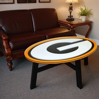 Green Bay Packers Coffee Table (Black/Green)