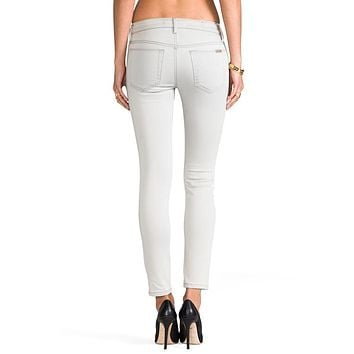 JOE'S SKINNY ANKLE ISIS LIGHT GREY JEANS
