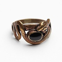 Tiger Mountain Womens Coiled Snake Ring