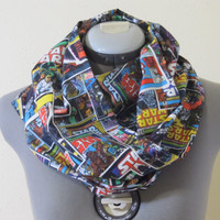 Star Wars Comic Book Infinity Scarf - Ready to ship