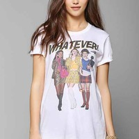 Clueless Whatever Tee- White