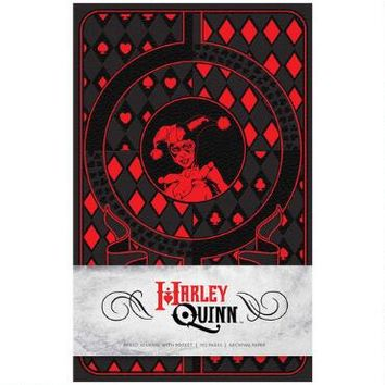 Harley Quinn Hardcover Ruled Journal |