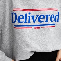 TEXT SWEATSHIRT - NEW IN-TRF | ZARA United States