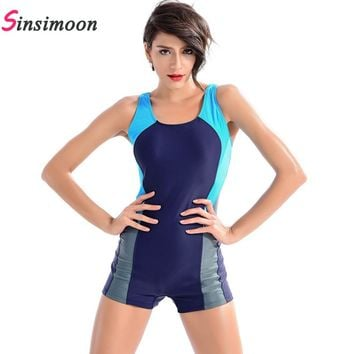 Professional One Piece Swimwear Sexy Swimming Suit Women Swimsuit Sports Racing Competition Bodysuit Bathing Suit