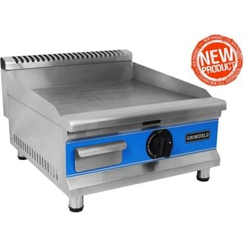 """Commercial Kitchen Countertop Economy Gas Griddle 20"""""""