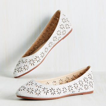 As Good as It Glitz Flat | Mod Retro Vintage Flats | ModCloth.com