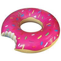 BigMouth Sprinkled Strawberry Donut Pool Float