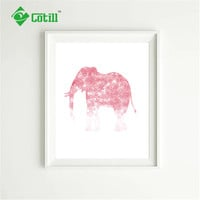 Cotill Unique Elephant Canvas Painting Wall Pictures Art Pictures On The Wall NO Frame Home Decor Picture Canvas Posters