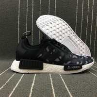 PEAPON Adidas Boost Nmd Superstar Nh Bape x Mastermind x Women Men Fashion Trending Running Sports Shoes