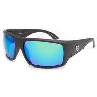 Filtrate Trader One Sunglasses Matte Black/Green Mirror One Size For Men 21713718201