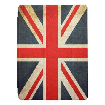 Vintage Union Jack British Flag iPad Pro Cover