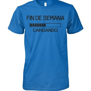 Fin De Semana Funny Spanish Shirt for Men, Funny Gifts, Men's Tops