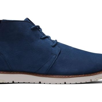TOMS - Men's Navi Navy Suede Leather Boots