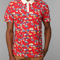 Shirts For All My Friends Floral Polo Shirt