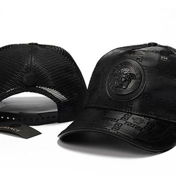 Versace  embroidery Strap Cap Adjustable Golf Snapback Baseball Hat