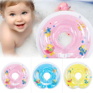 swimming baby accessories swim neck ring baby Tube Ring Safety infant neck float circle for bathing Inflatable safety protection