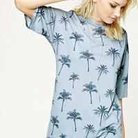 Contemporary Palm Tree Tee
