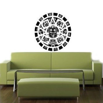 Mayan Calendar Ancient Old Prediction Maya Wall Art Sticker Decal T399