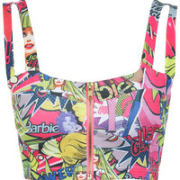 Barbie Comic Zip Bra