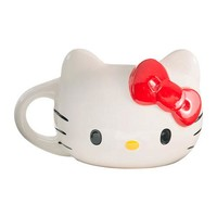Hello Kitty Head Sculpted Ceramic Mug - Vandor - Hello Kitty - Mugs at Entertainment Earth
