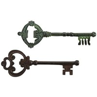 Antique Key Bottle Openers