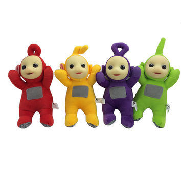 1pcs 25cm Authentic Teletubbies Plush Toy Stuffed Doll Super Quality Children Christmas Birthday Gift Free Shipping