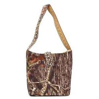 Nocona Mossy Oak Camo Bucket Purse