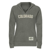 Colorado Buffaloes Ladies Legacy Pullover Hoodie - Gunmetal -